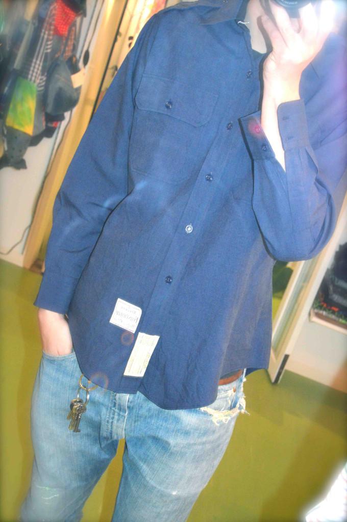 OLDシャツ コーディネート メンズ