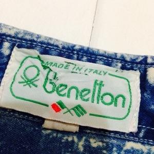 ベネトン!! メンズ レディース