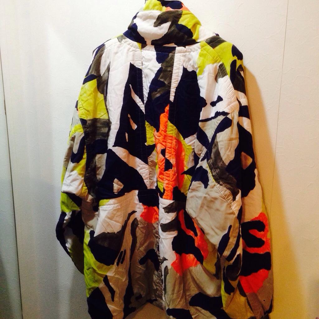 アートなテキスタイルのプルオーバージャケット!! メンズ レディース 商品入荷