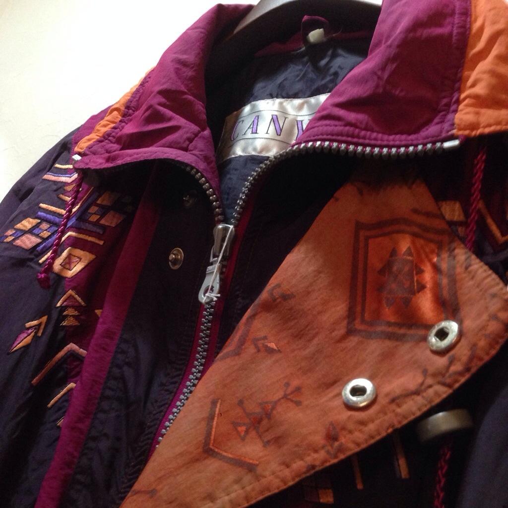 ノスタルジックな雰囲気が◎なプルオーバージャケット!! メンズ レディース 商品入荷