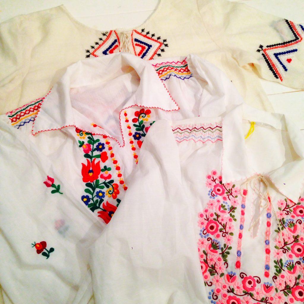 エスニック刺繍シャツ!! コーディネート レディース 商品入荷