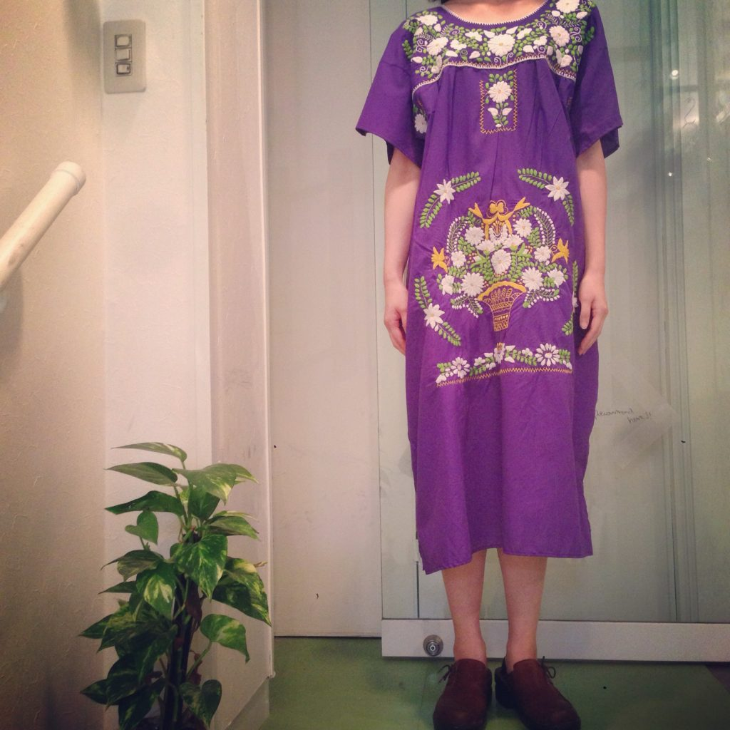 Vintageメキシカン刺繍ワンピース!! レディース 商品入荷