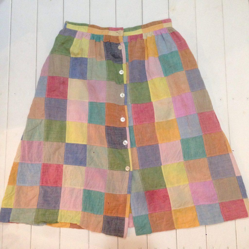 パッチワークAラインスカート!! レディース 商品入荷