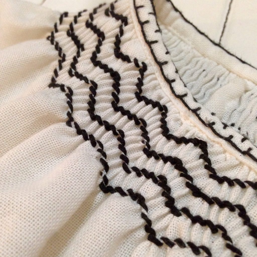 エスニック刺繍シャツでスタイリング!! お知らせ コーディネート レディース