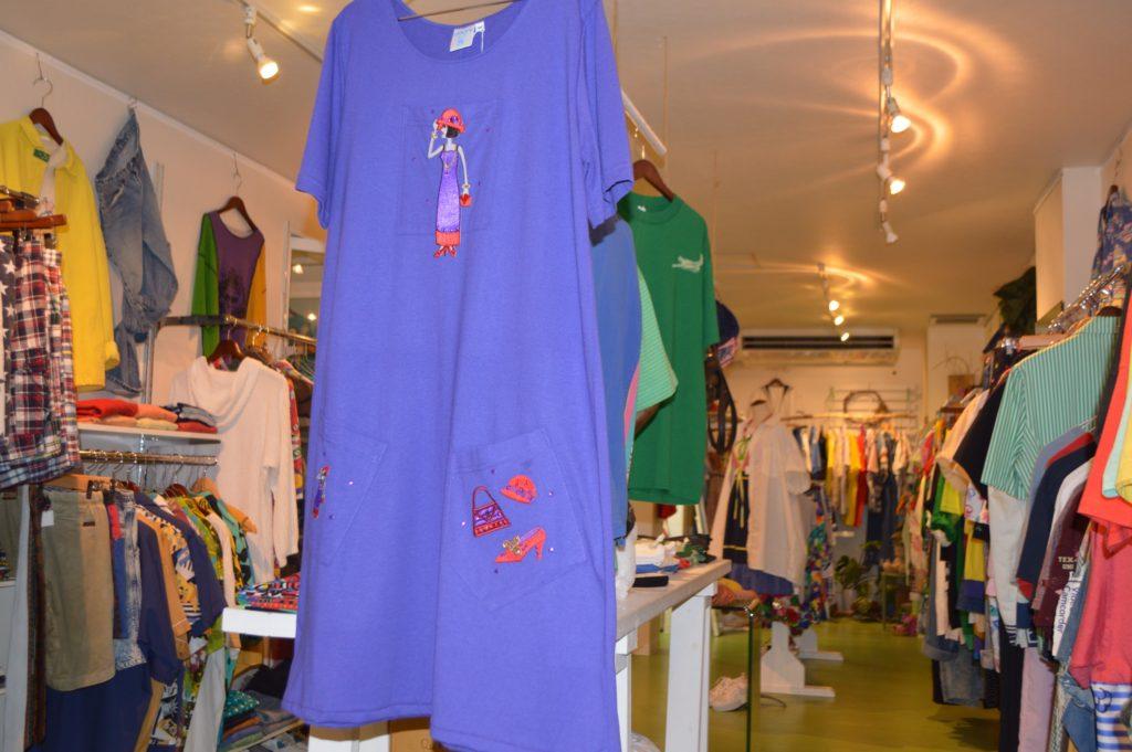 80Sガール、小物、紫なワンピ!! レディース