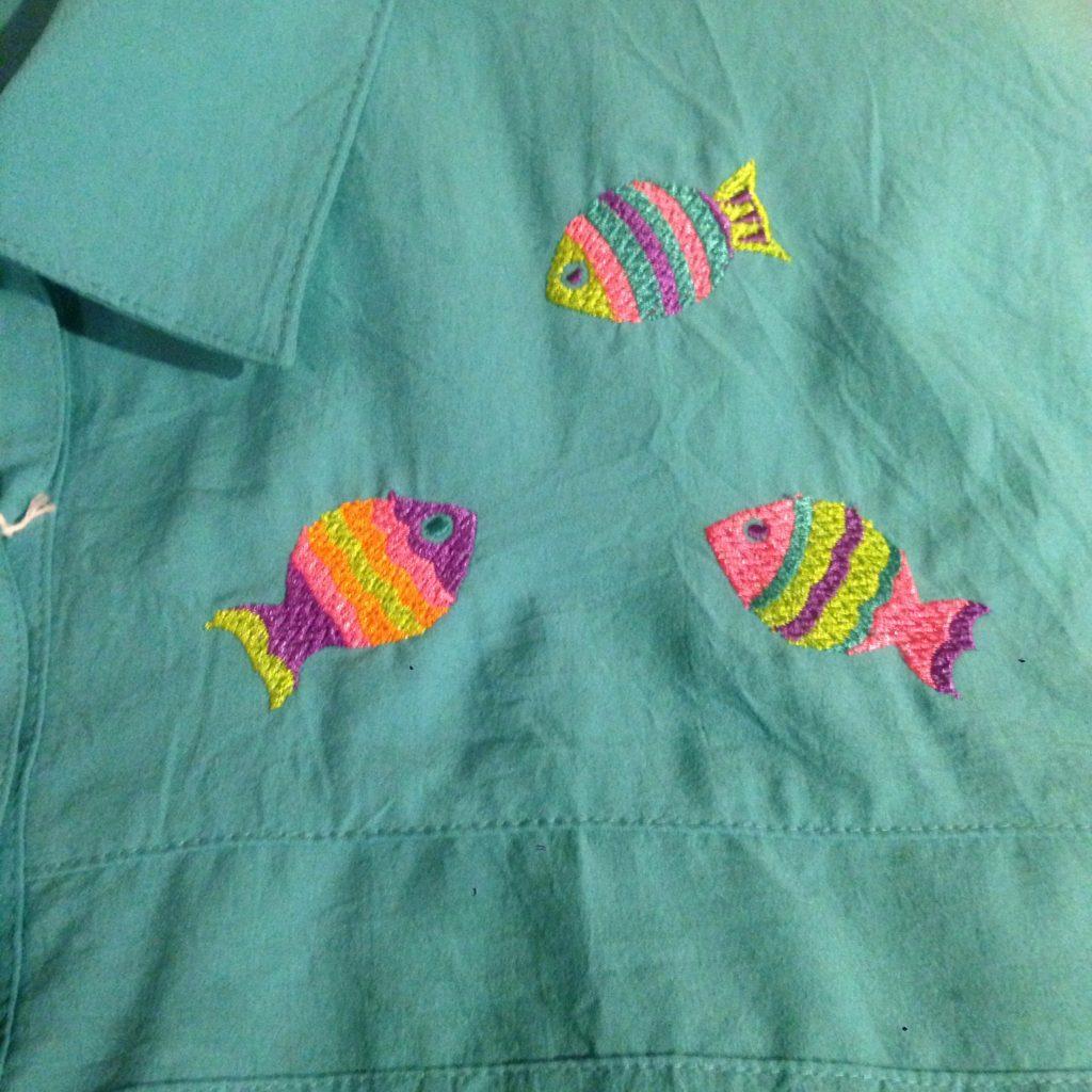 80Sフルーツ&フィッシュ!! レディース