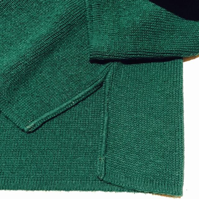 深みのあるグリーンのユルニット!! メンズ レディース