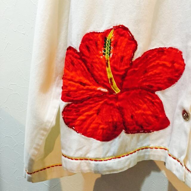 蕾と花のコットンJKT!! レディース