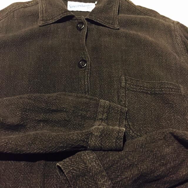 オールブラックなINDIAコットンのシャツジャケット!! メンズ レディース 商品入荷