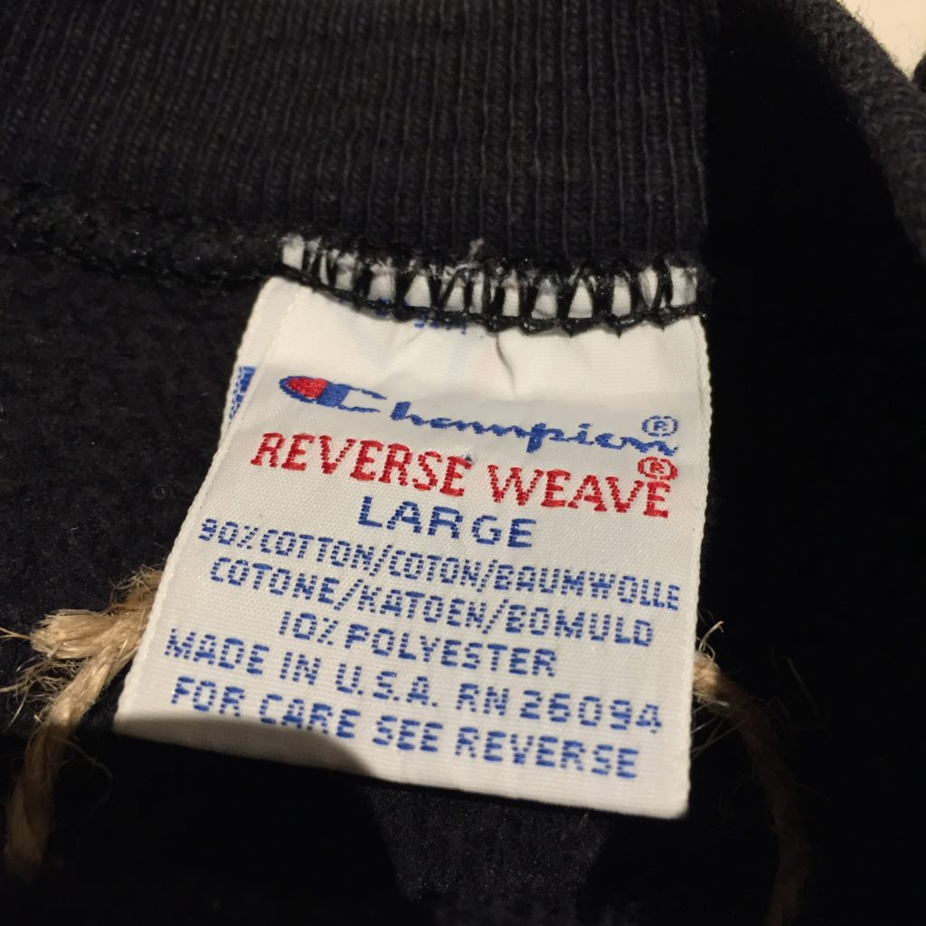 シンプルな刺繍ロゴのチャンピオンリバースウィーブの巻!! メンズ レディース