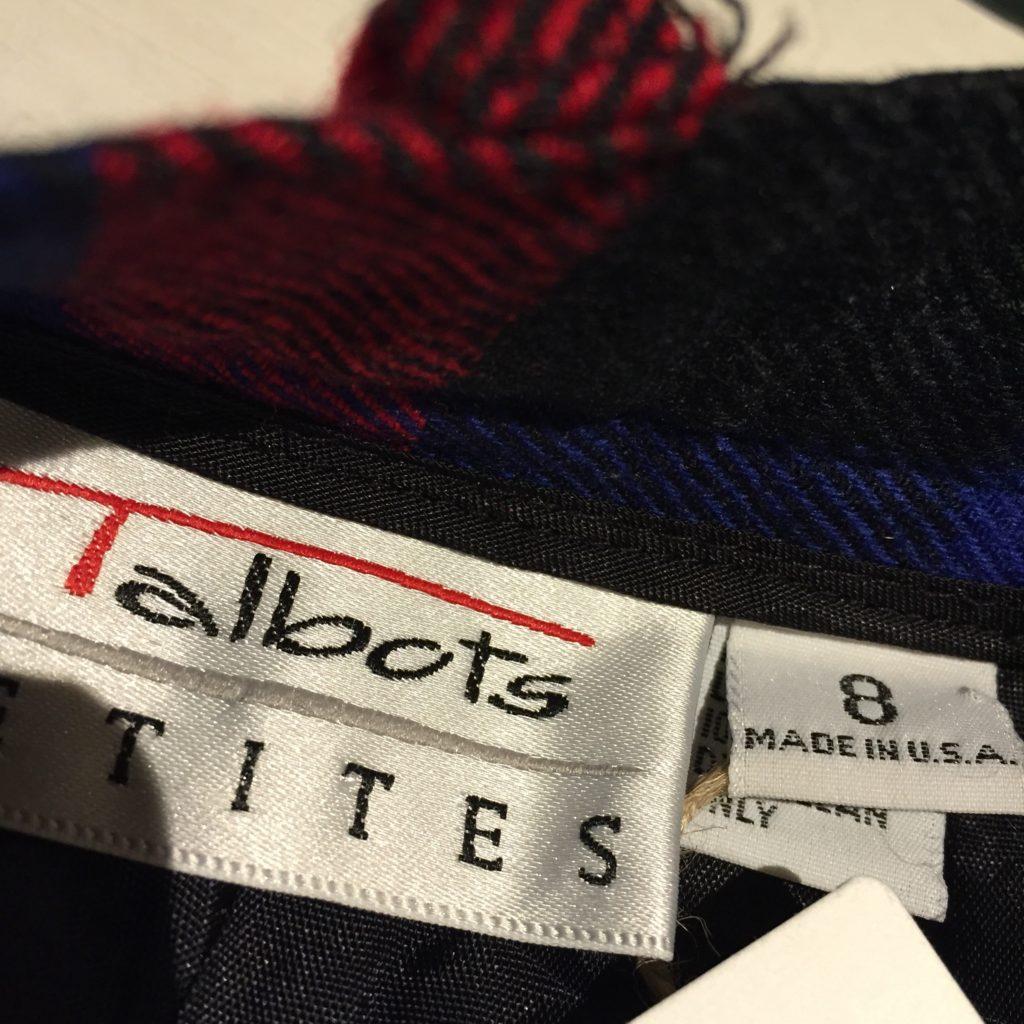 USA製Talbots チェック柄ショートパンツの巻!! レディース