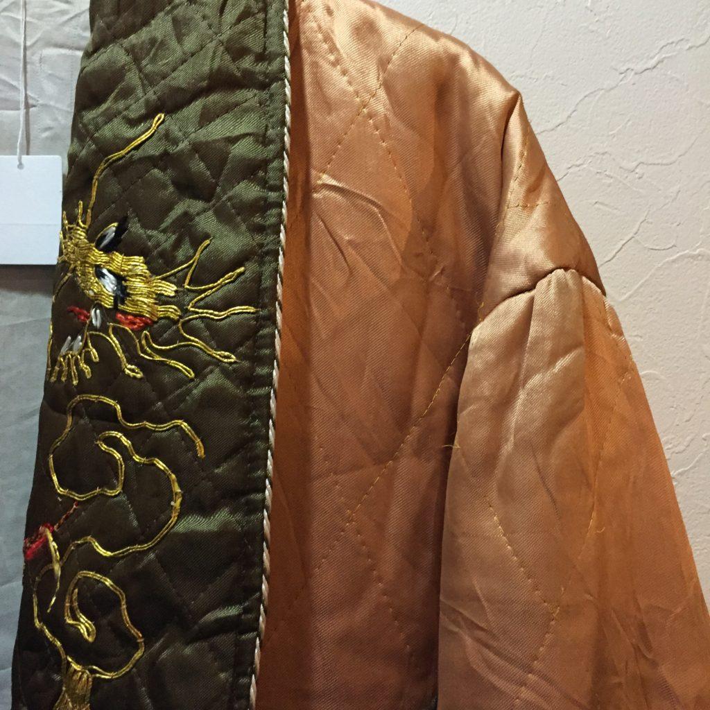 70S〜ドラゴン刺繍なキルティング JKTの巻!! メンズ レディース