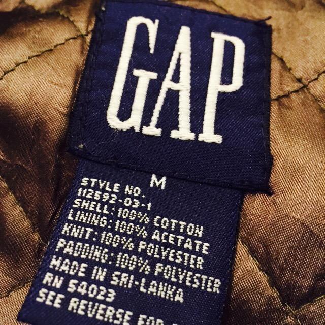 90S OLD GAP MA-1TYPE ブルゾンの巻!! メンズ レディース