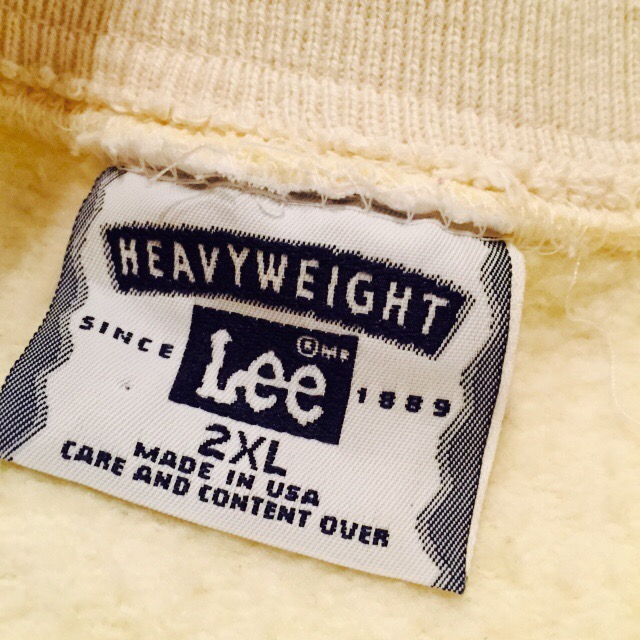 USA製 Lee 天使のスウェットの巻!! メンズ レディース