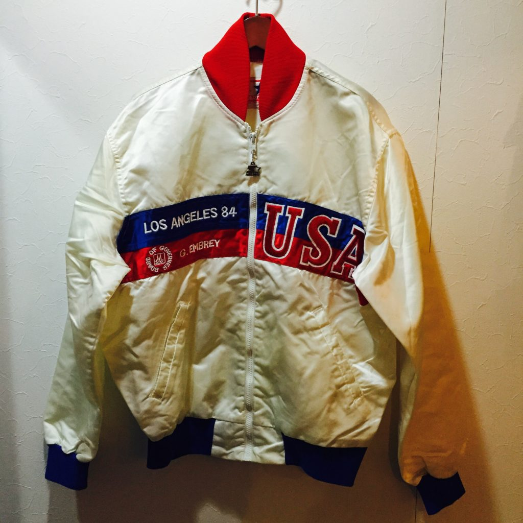 1984S LOSANGELES OLYMPIC STARTER ナイロンブルゾンの巻!! メンズ レディース
