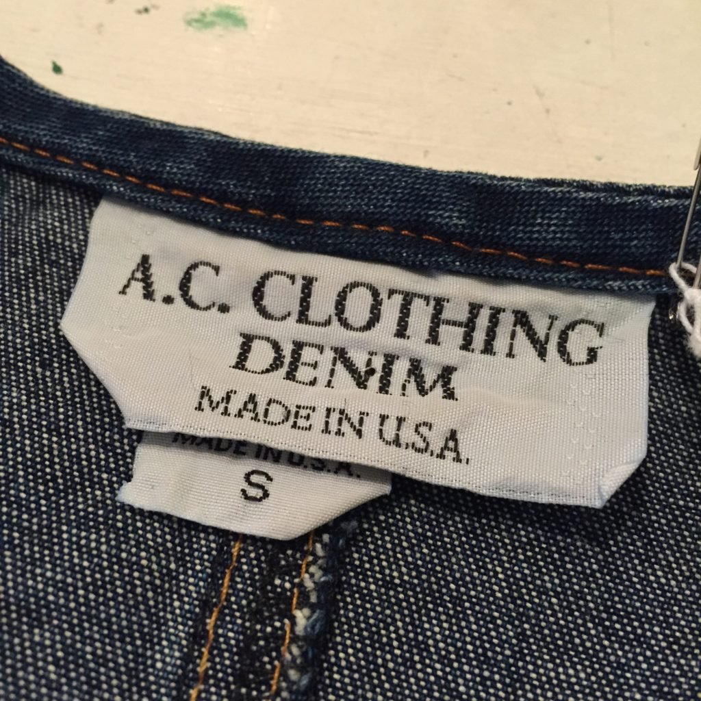 USA製 デニムの羽織りの巻!! メンズ レディース
