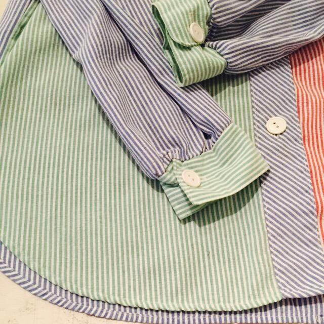 クレイジーパターンなシアサッカーシャツの巻!! メンズ レディース