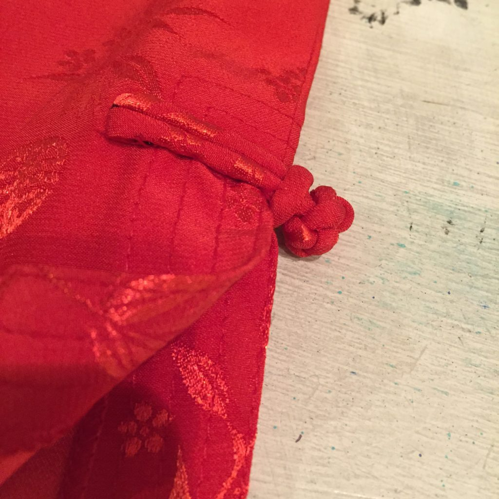 赤なチャイナシャツの巻!! レディース