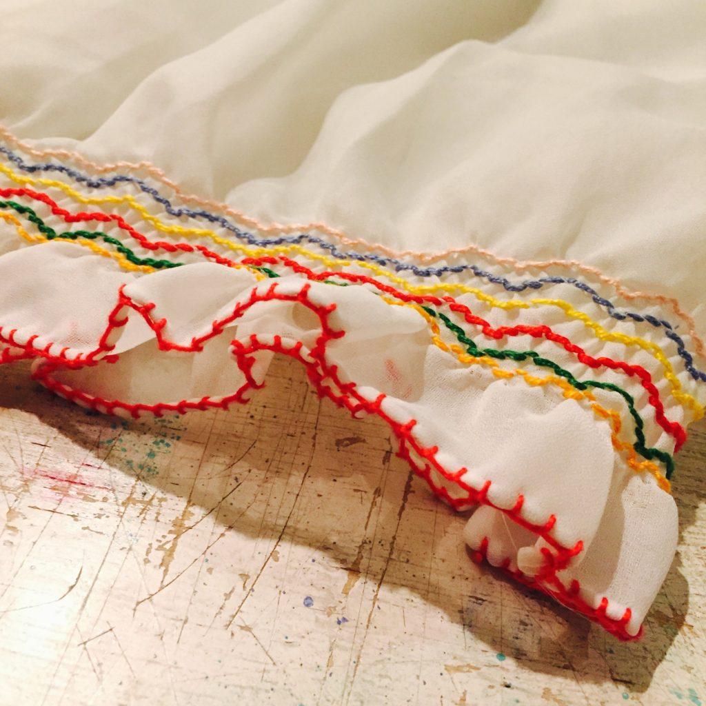 刺繍 シースルーチロルトップスの巻!! レディース