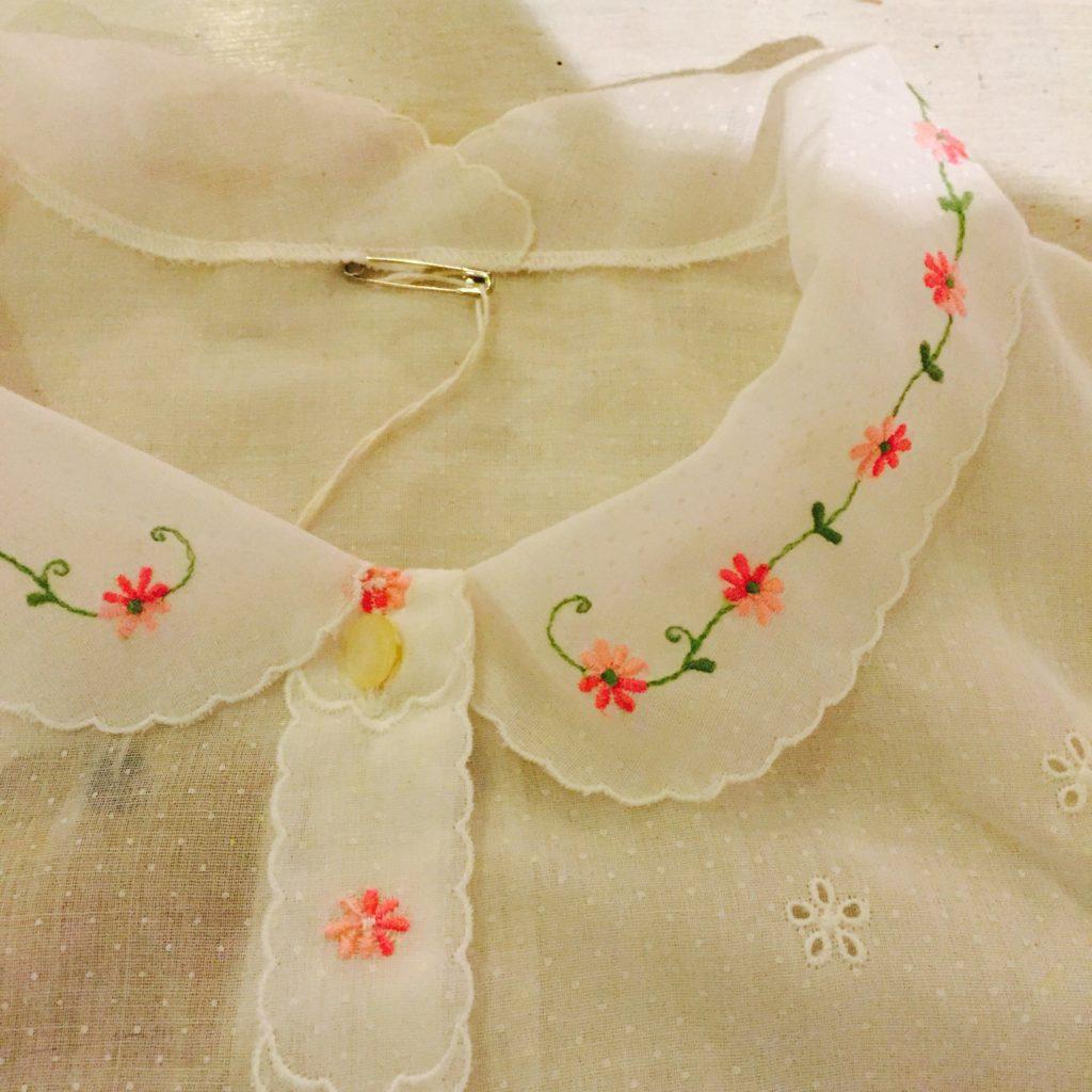 シースルー 刺繍 ブラウスの巻!! レディース