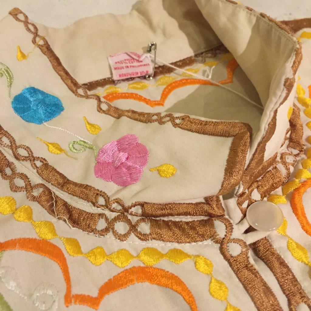 チャイナデザインな刺繍シャツの巻!! レディース