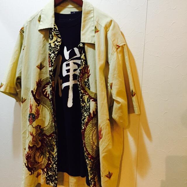 OLD STUSSY 龍パターンシャツの巻!! メンズ レディース