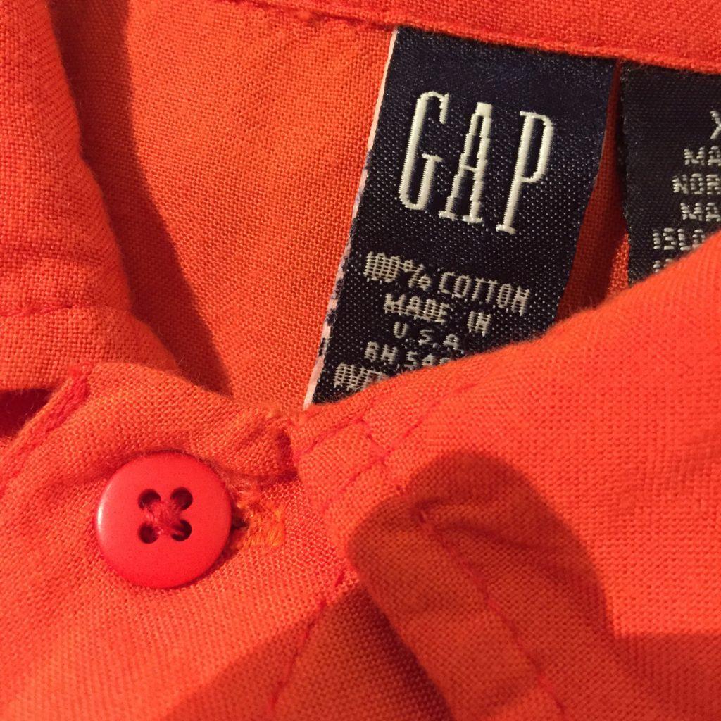 USA製GAP 龍シャツの巻!! メンズ レディース