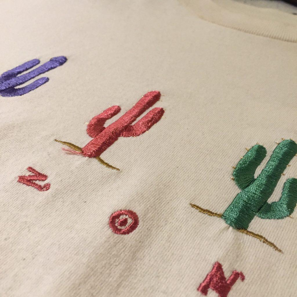 刺繍… メンズ レディース