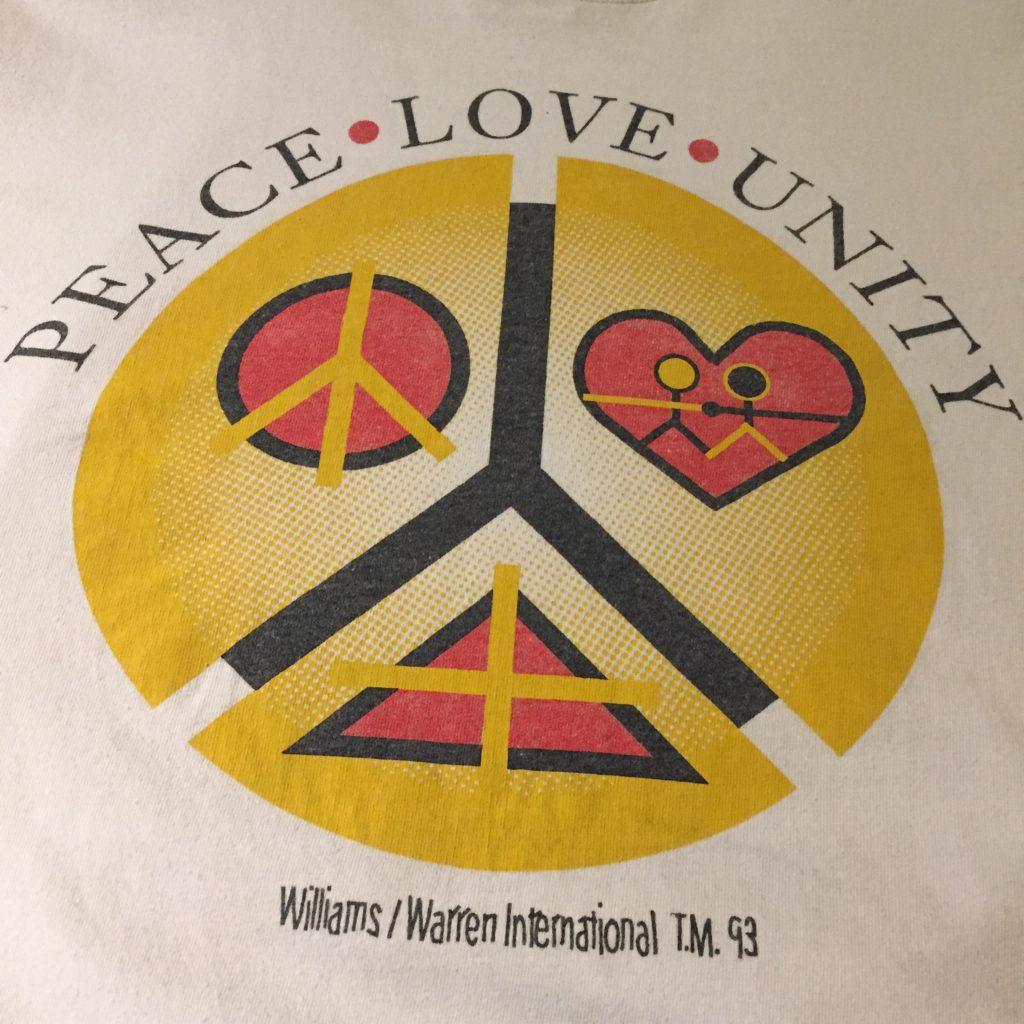 PEACE…LOVE…UNITY… メンズ レディース