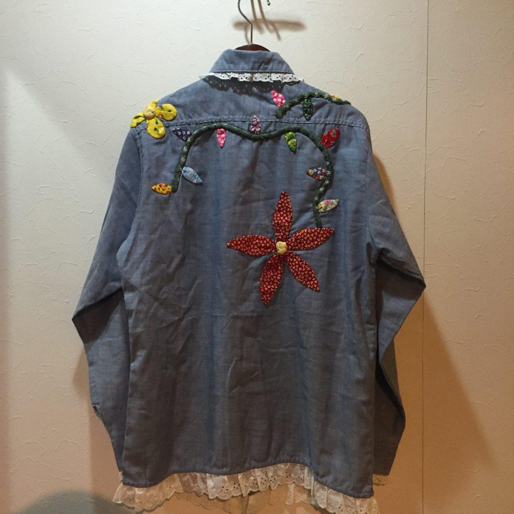 70S ハンドメイド シャンブレーシャツの巻!! レディース