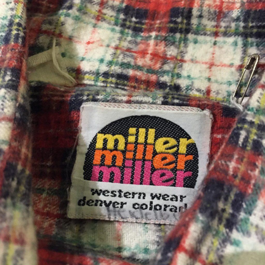 70S miller プリントネル ウエスタンシャツの巻!! メンズ レディース