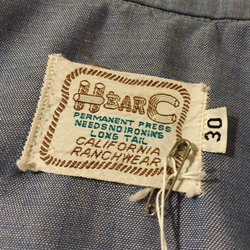 HbarC シャンブレーウエスタンシャツの巻!! レディース