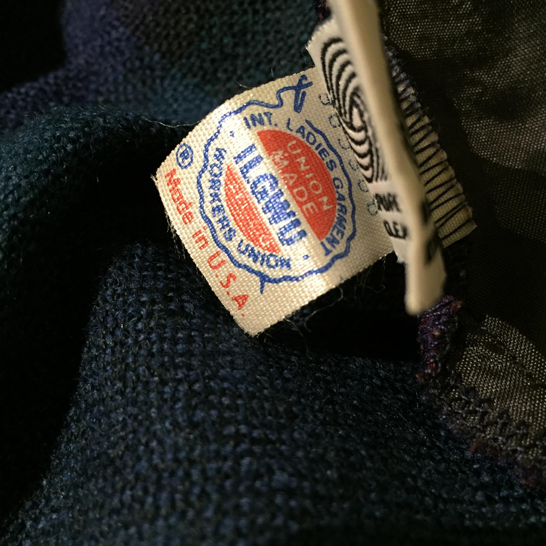 70S USA製 チェック柄スカートの巻!! レディース
