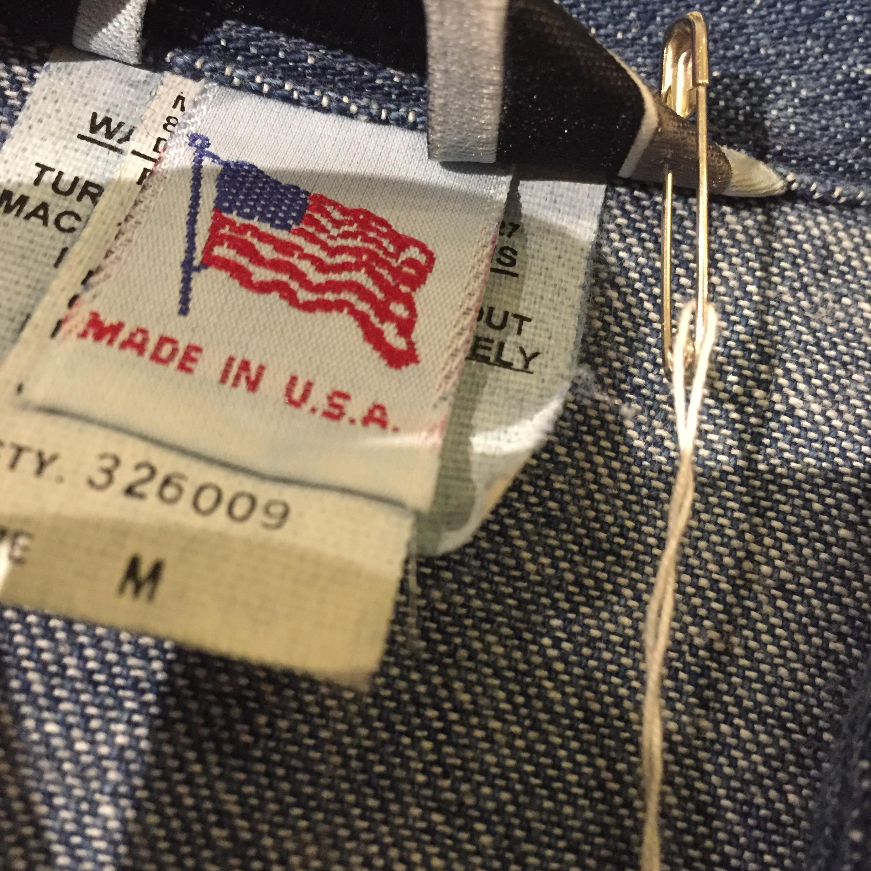 USA製 OLDデニムシャツの巻!! メンズ レディース