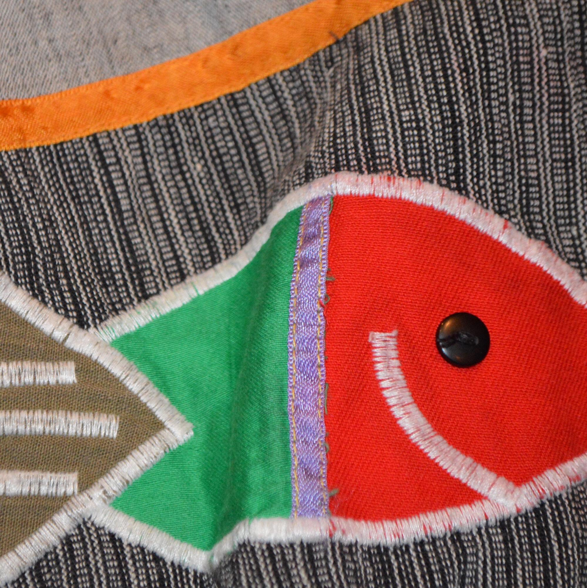 MEXICO製 SAKANA刺繍 ブルゾン!! メンズ レディース