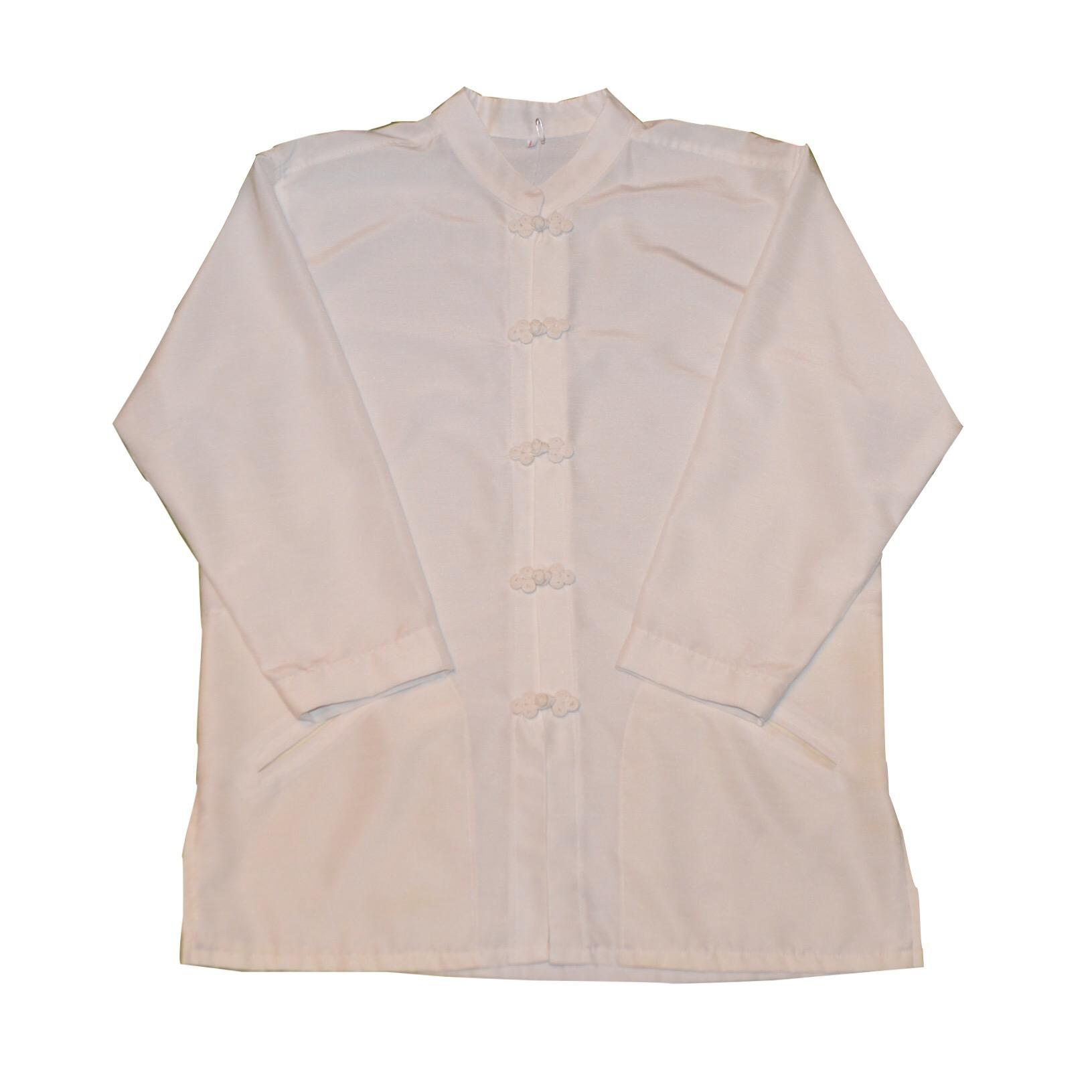 チャイナシャツ クロ&シロ!! メンズ レディース