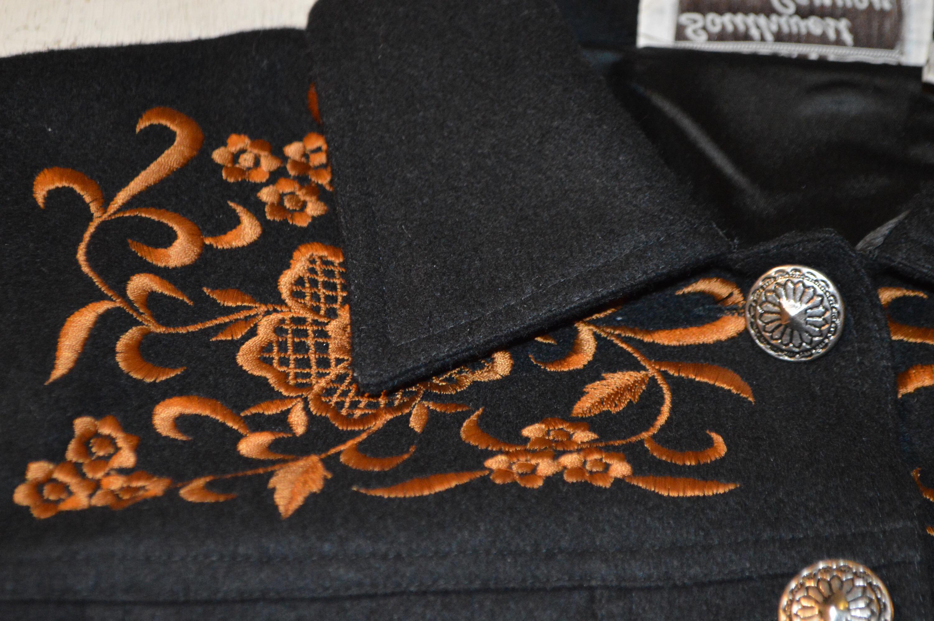 INDIA製 刺繍ウールジャケット!! レディース