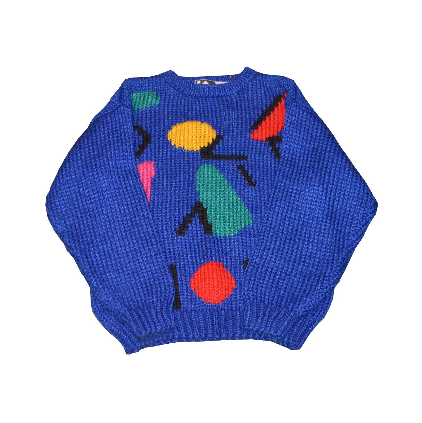 カラフルでポップなニットセーター!! メンズ レディース