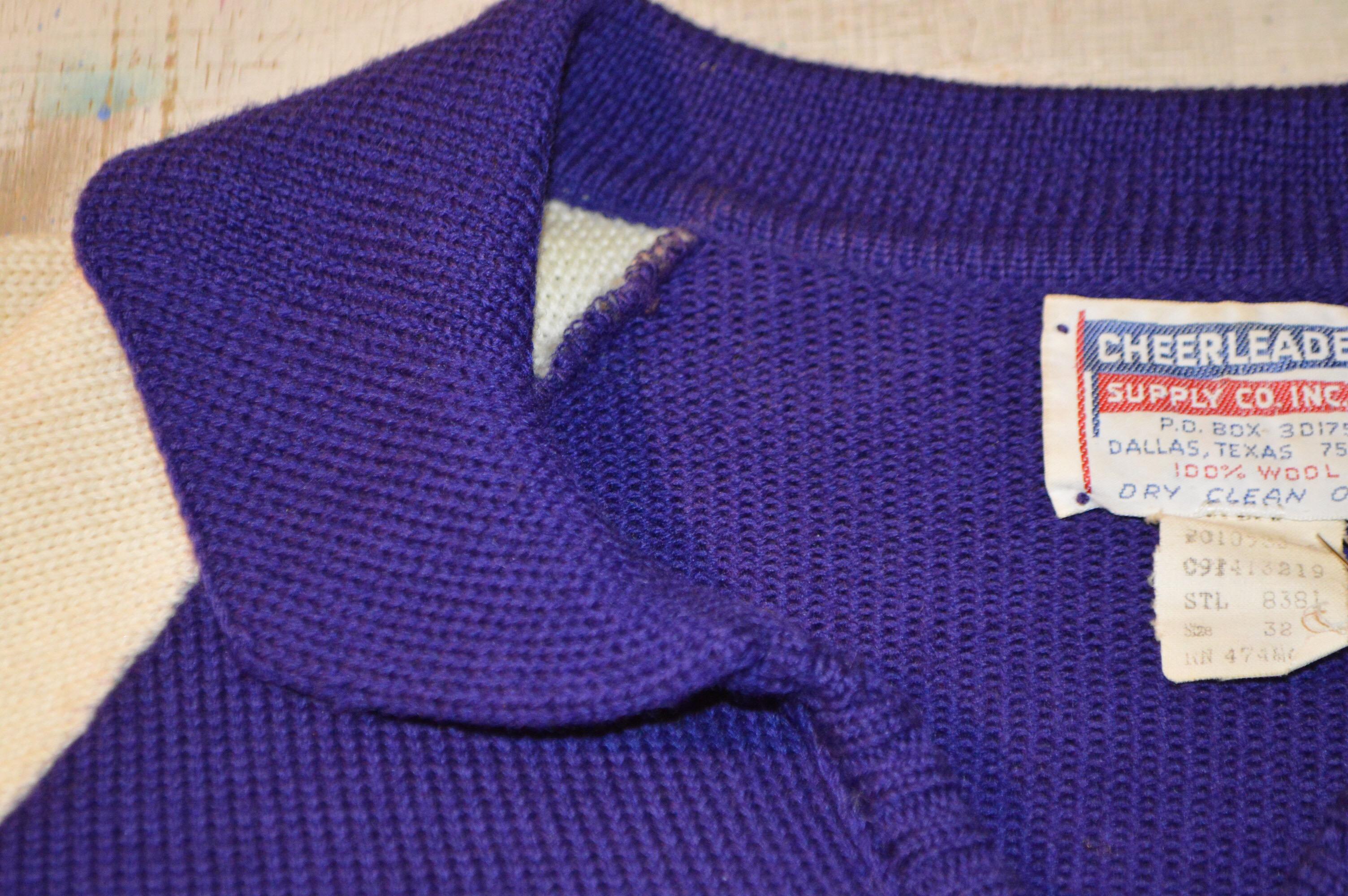 OLD チアニットセーター!! レディース