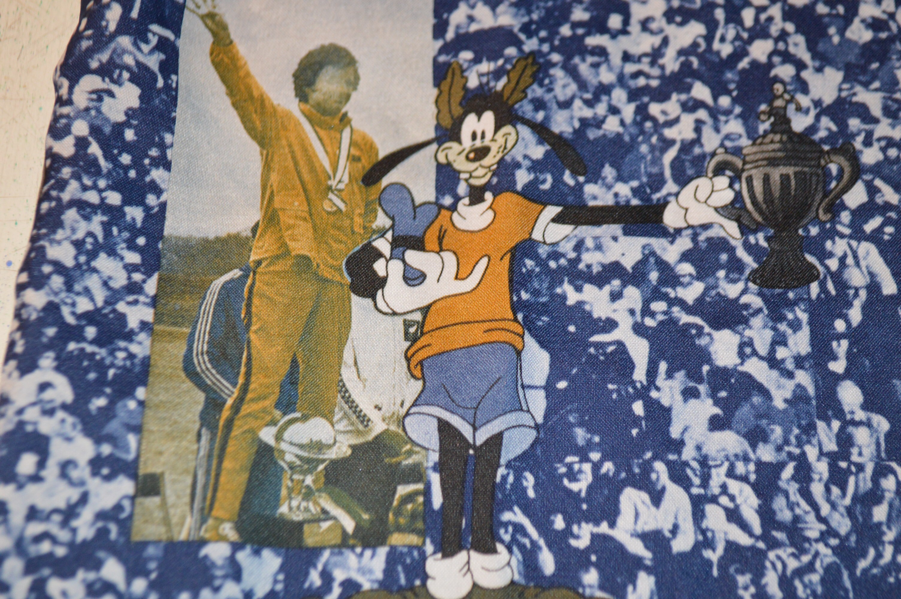 70S KENNINGTON×Disney ポリシャツ!! メンズ レディース