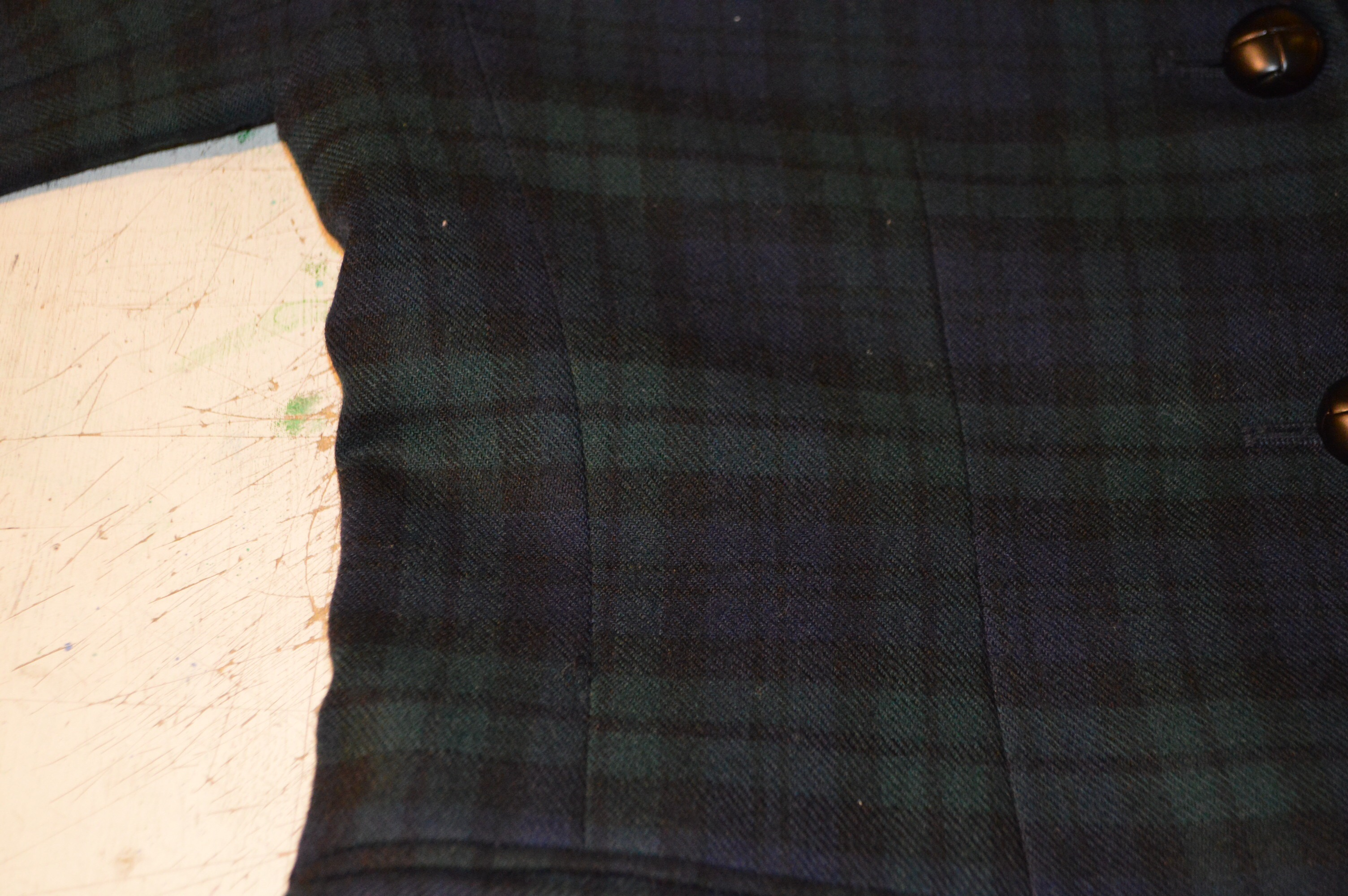 USA製 Talbots ブラックウォッチ ジャケット&スカート!! レディース