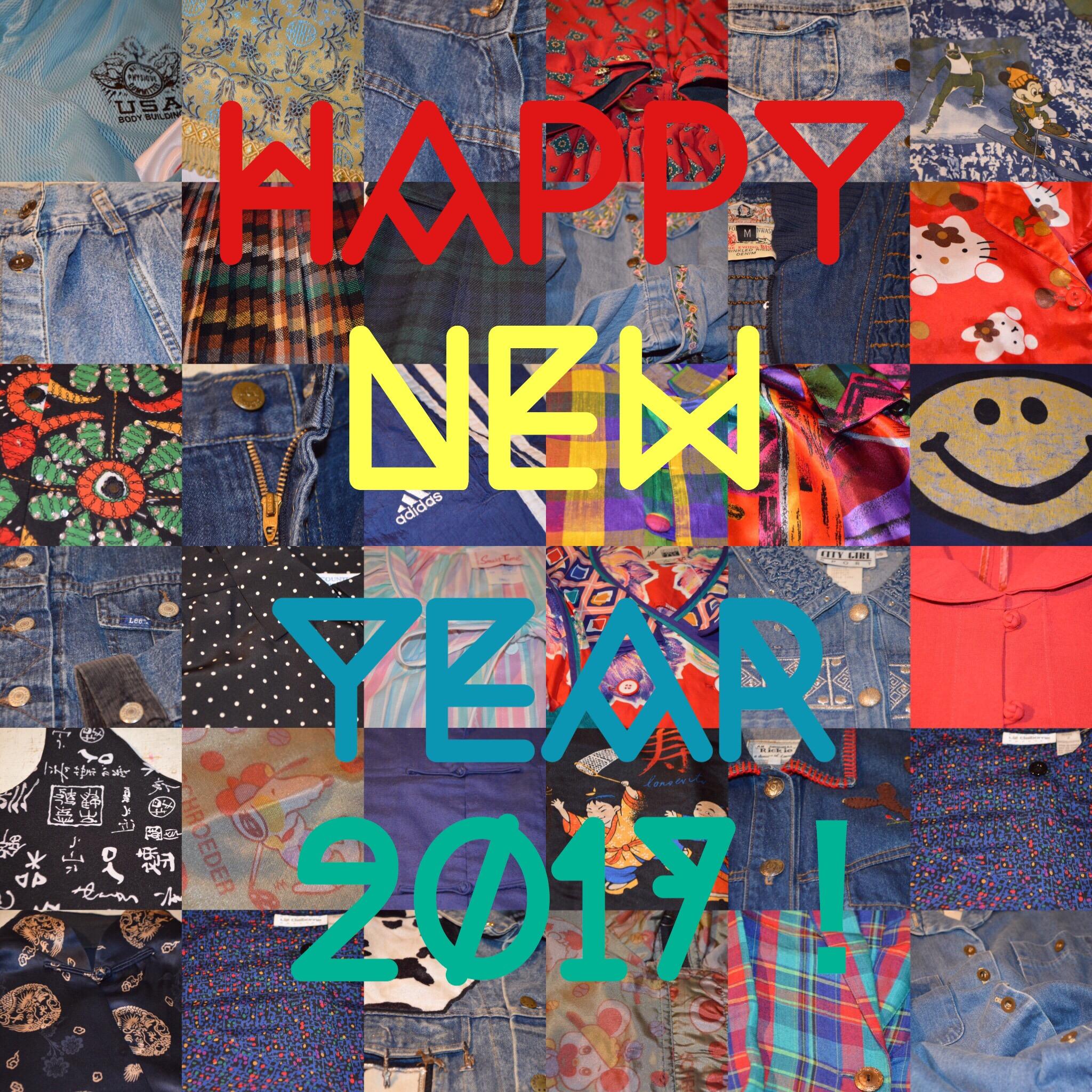 新年あけましておめでとうございます!! お知らせ メンズ レディース 商品入荷