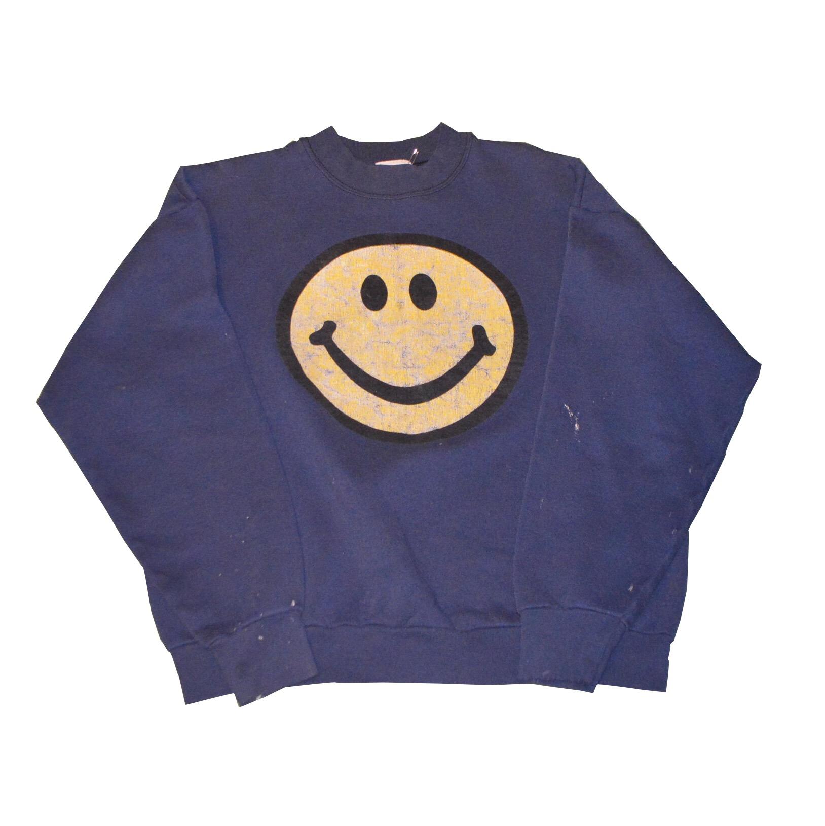 JUNK!! 80S USA製 Smiley face スウェット!! メンズ レディース