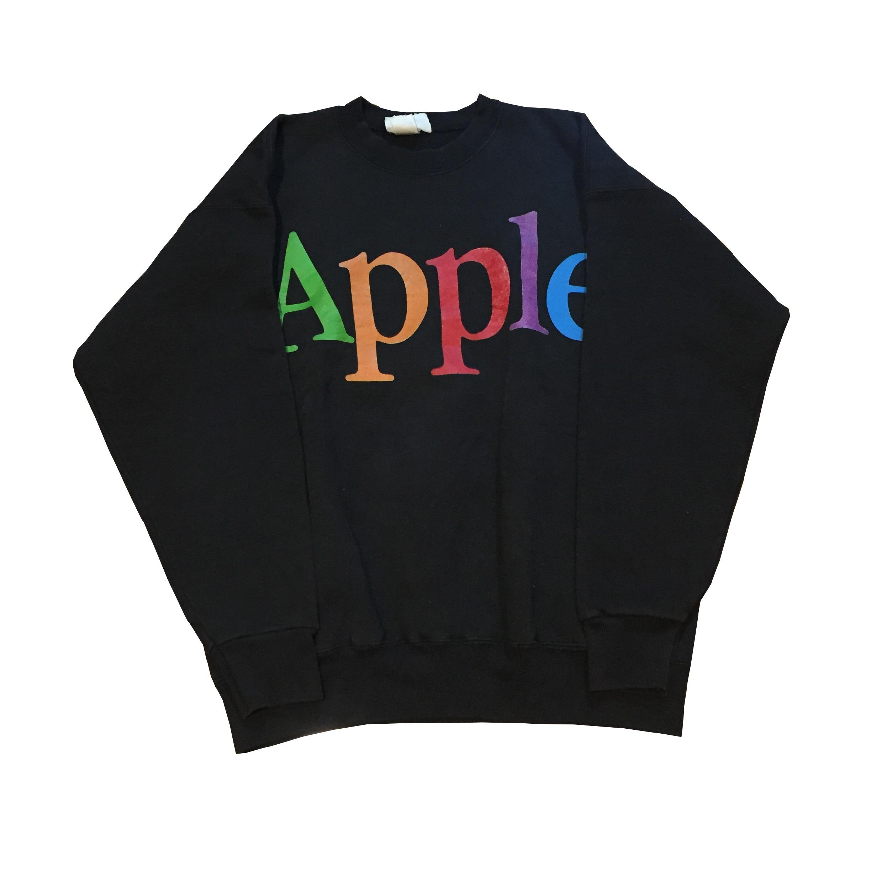 90S USA製 Apple社クロージングライン スウェット!! メンズ レディース