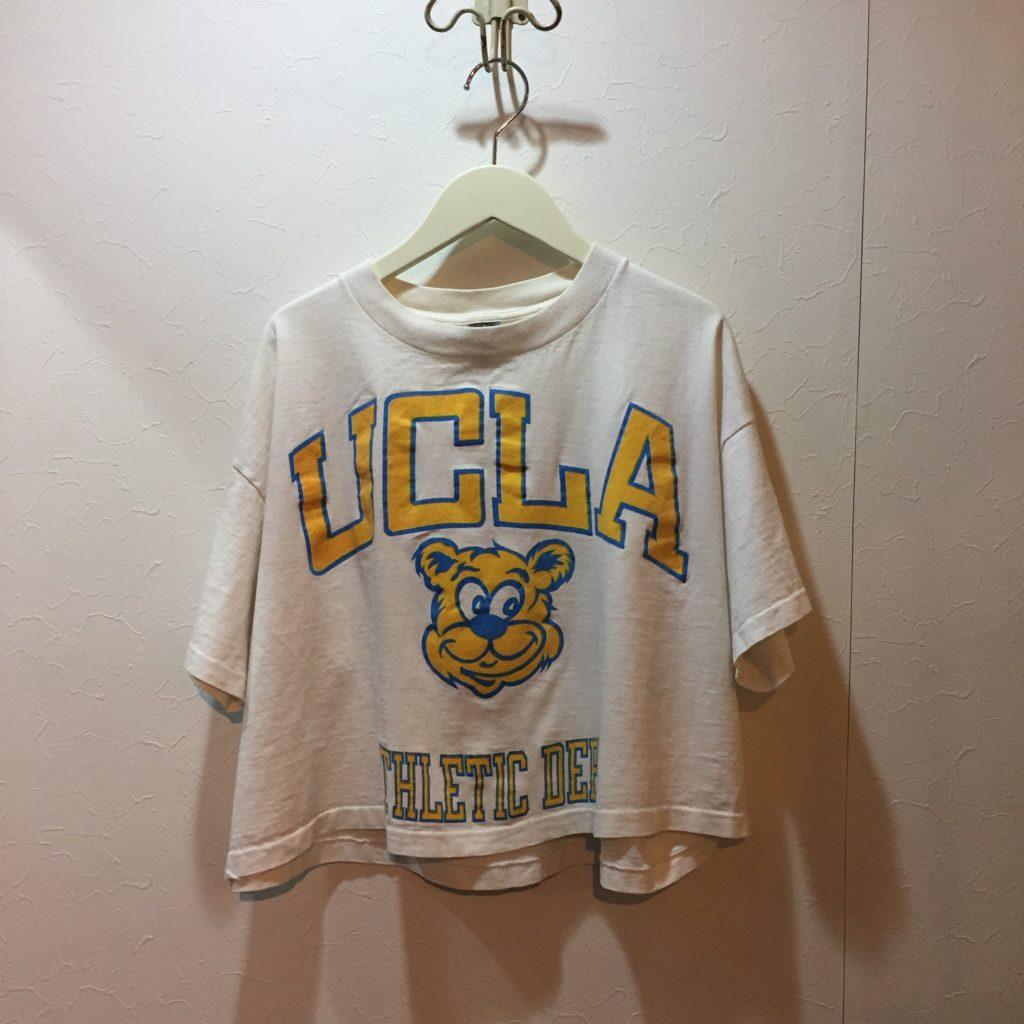 70S- UCLA ショート丈Tee!! レディース