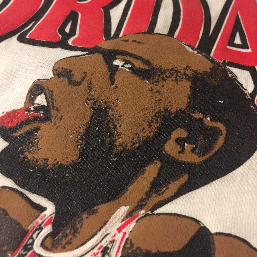 マイケルジョーダン×シカゴブルズ 80S Tシャツ!! ユニセックス