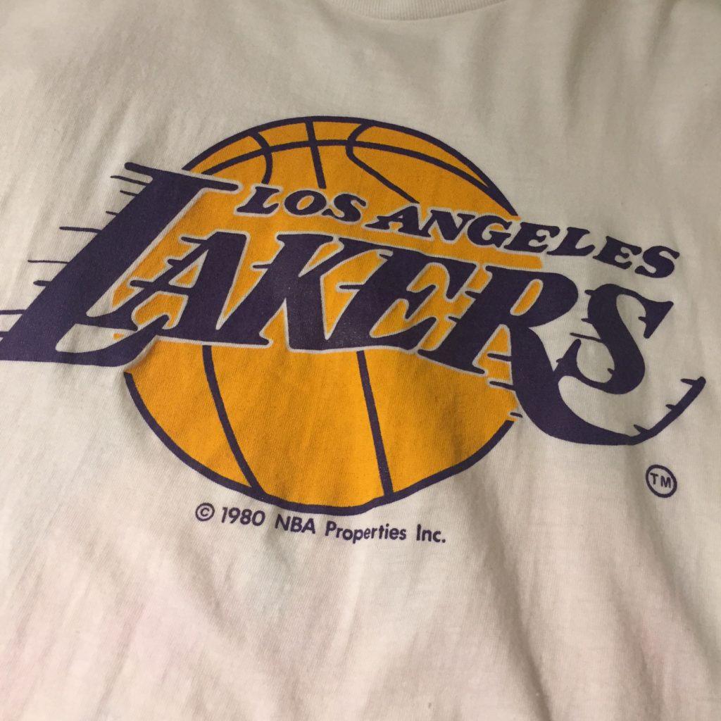古着 80S NBA レイカーズ TEE レディース