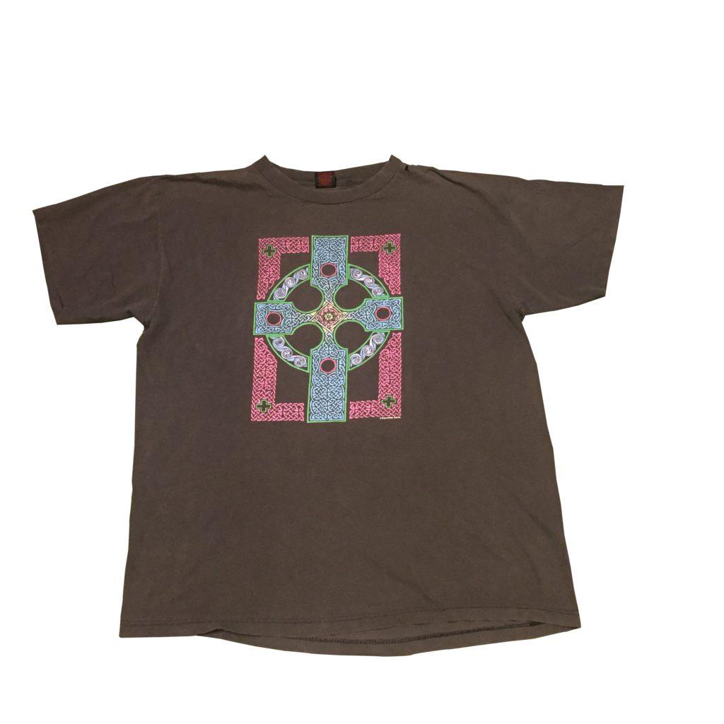 古着 Tシャツ Courtney Davis ケルト十字 TEE ユニセックス