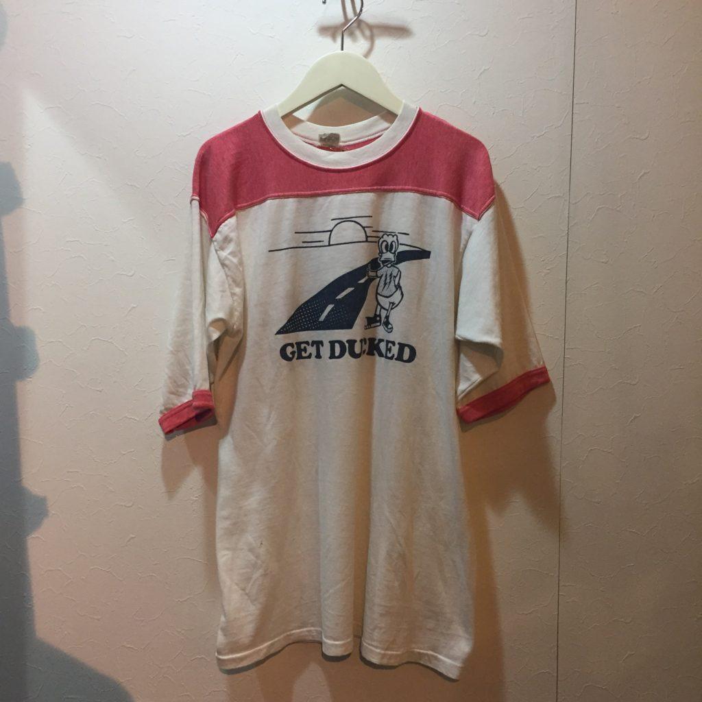 古着 Tシャツ 70S STEDMAN RoadDucks Tee レディース