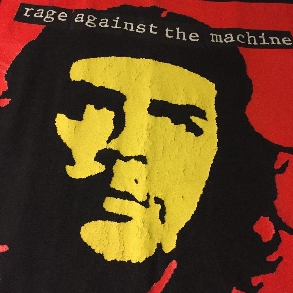 古着 バンドTシャツ Rage Against the Machine 90S TEE レディース